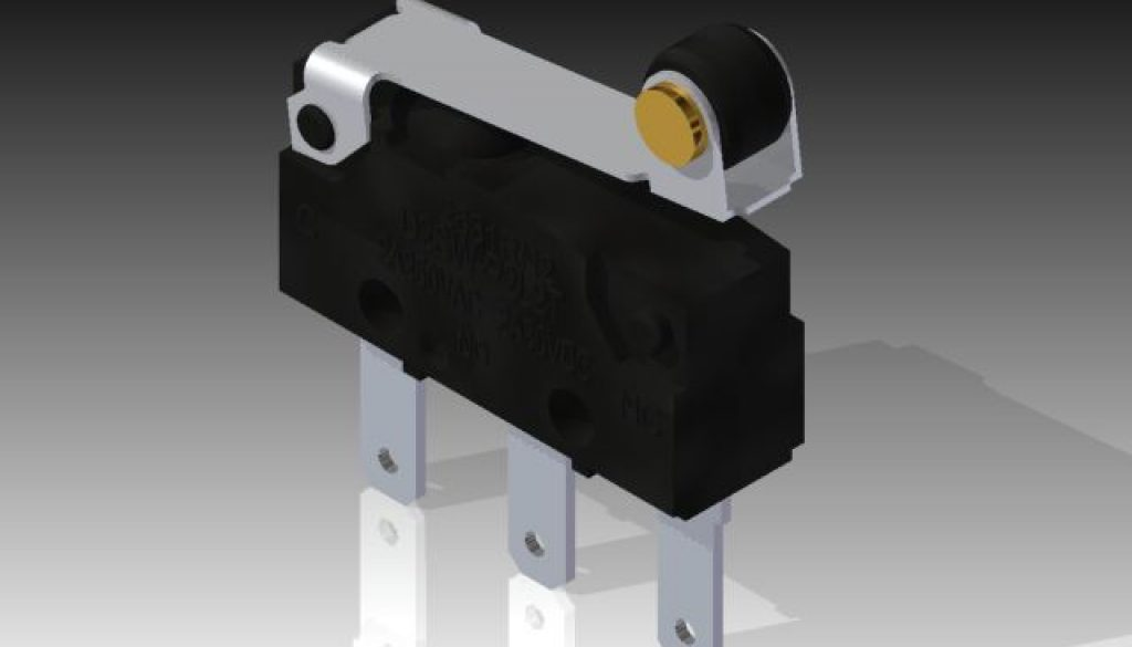 Microswitch_-_Omron_D2SW-P2L2T